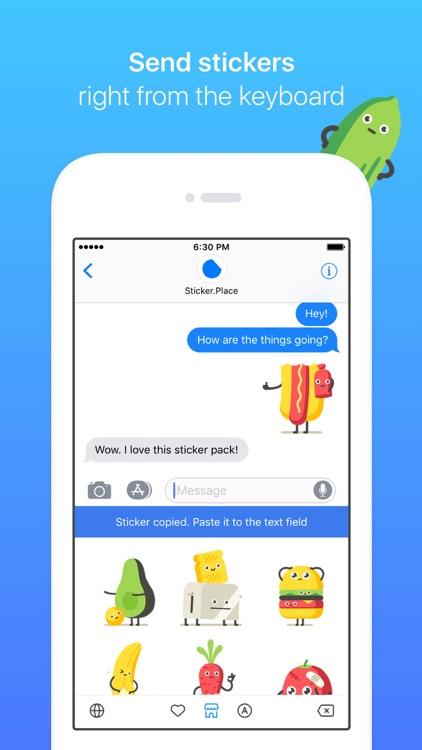 Sticker.Place Emoji Keyboard screenshot-3