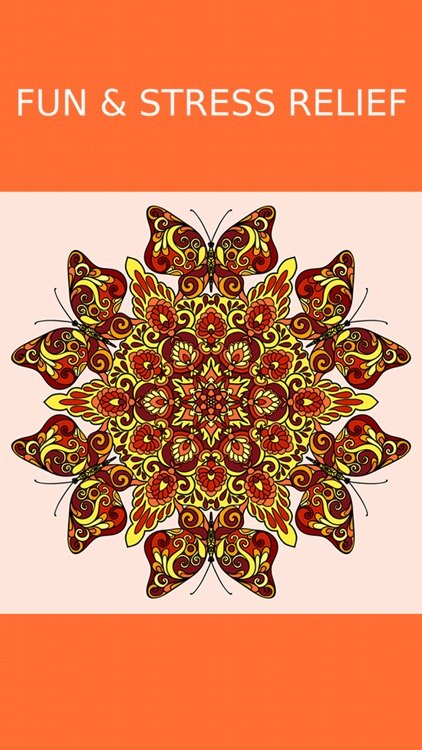 Mandala Coloring Pages Games screenshot-4