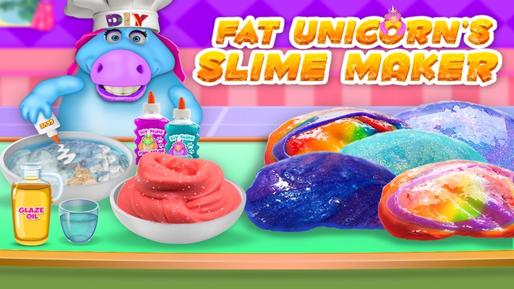 Mr. Fat Unicorn Slime Making