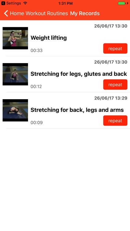 Home workout routines screenshot-4