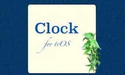 Clock for tvOS