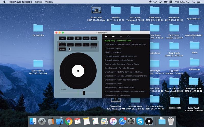 Flexi Player Turntable Screenshots