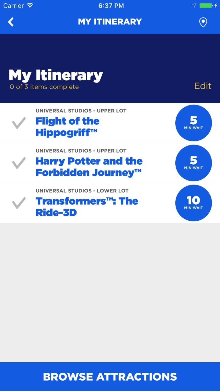 Universal Studios Hollywood™ Screenshot