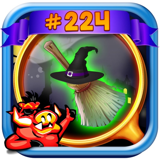 Witch House Hidden Object Game