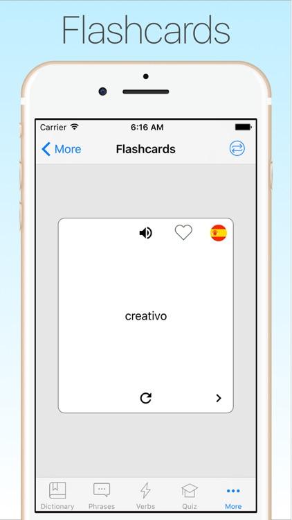 Spanish English Dictionary + screenshot-4