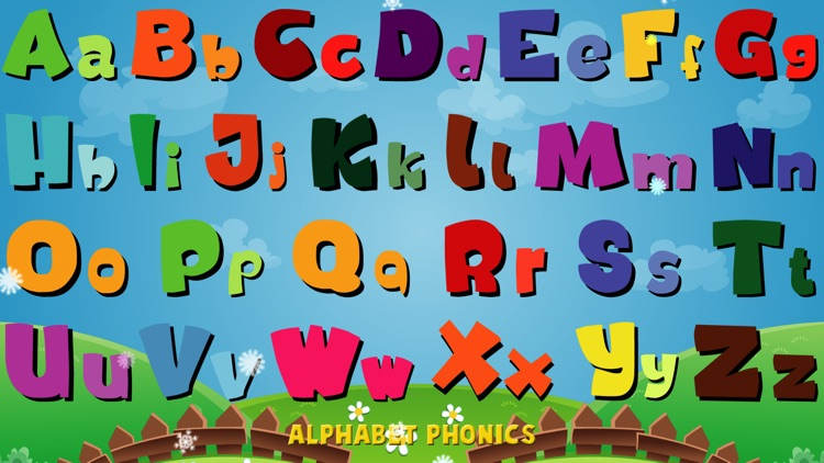 Alphabet Phonics - Talking Alphabet Lite screenshot-3