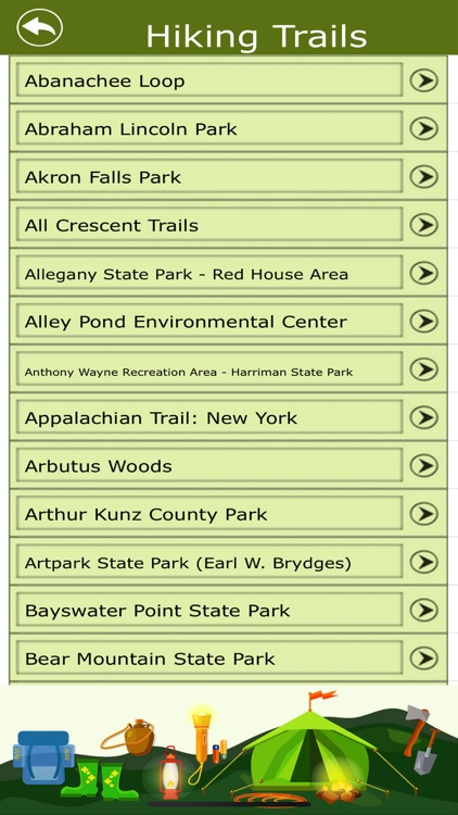 New York Campgrounds & Trails screenshot-3