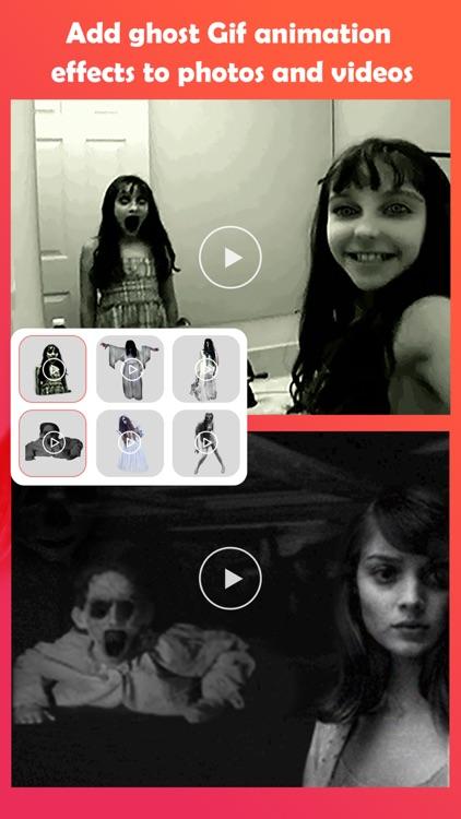 Ghost Lens AR Fun Movie Maker screenshot-4