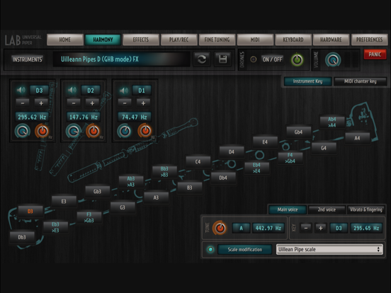 Universal Piper - Bagpipe Lab screenshot four