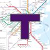 MBTA Boston T Transit Map