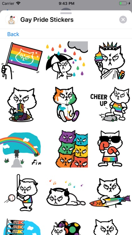 Gay Pride Stickers Collection screenshot-3