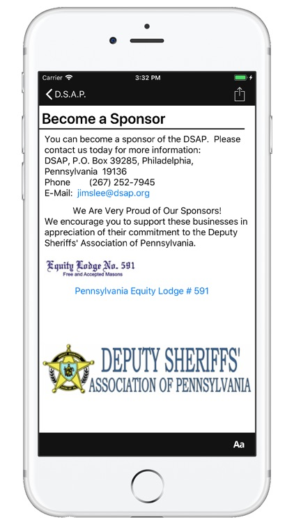 Deputy Sheriffs Assoc of PA screenshot-3