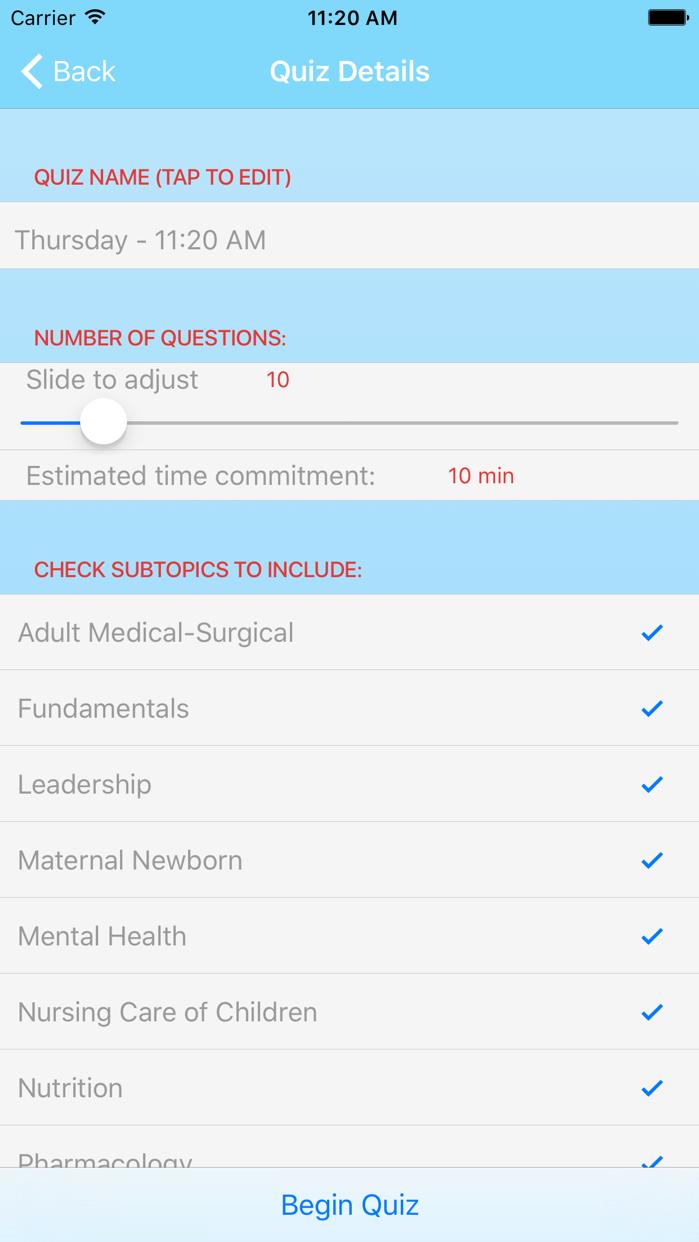 ATI RN Mentor – NCLEX Exam Preparation Screenshot