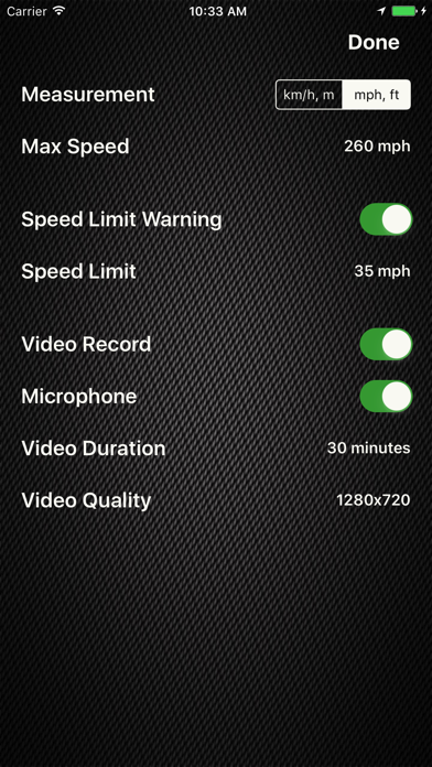 Speed Limit Pro. screenshot two
