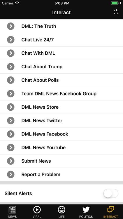 DML News App screenshot-4