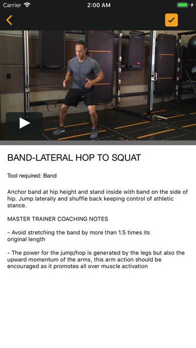 Matrix Fitness Group Education Screenshot