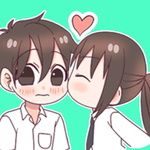 Anime Love Sticker