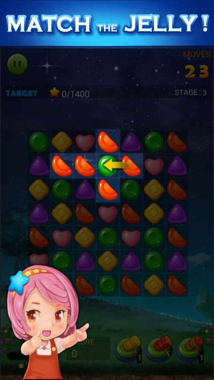 Jelly Star Night screenshot-0