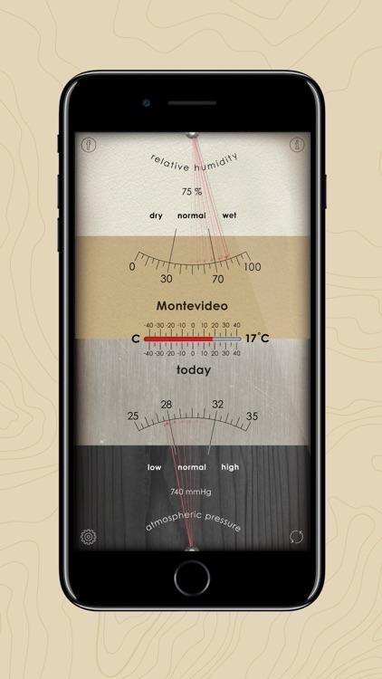 Analog Weather Station screenshot-5