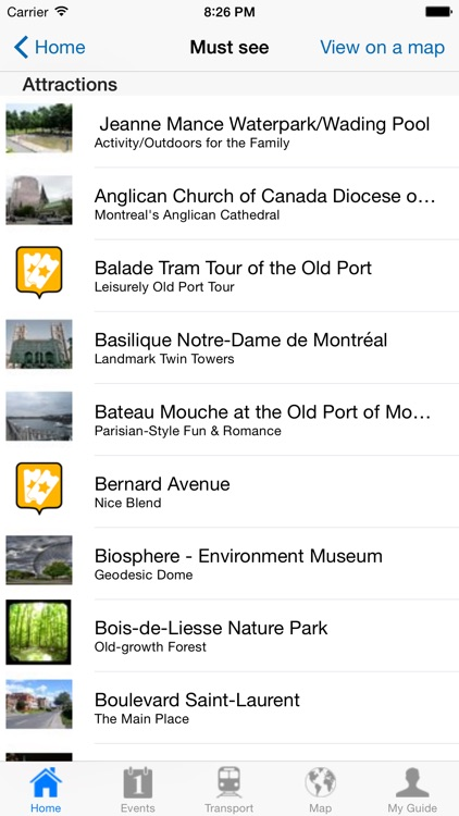 Montreal Travel Guide Offline screenshot-3