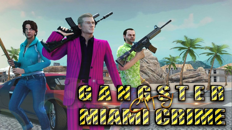 Gangster City Miami Crime Auto screenshot-6