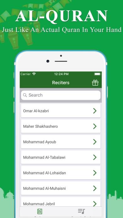 Quran MP3 Audio screenshot two