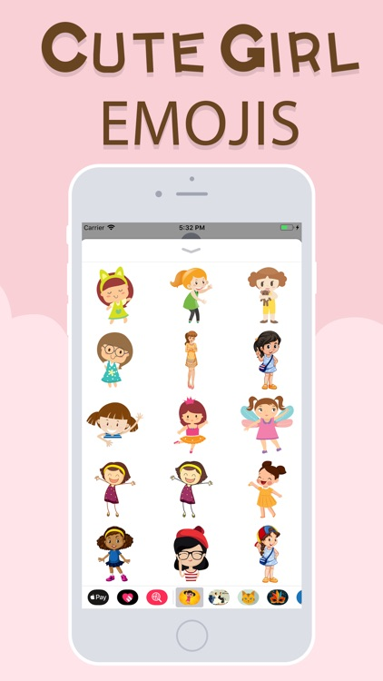 Cute Girl Emojis