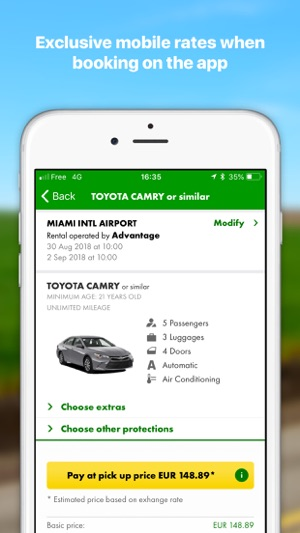 063151629e45ab Europcar - Car   Van Hire on the App Store
