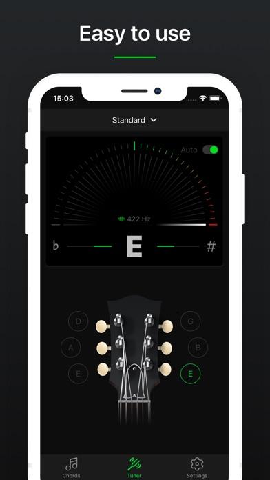 Guitar Tuner Pro, Bass,Ukulele screenshot 2