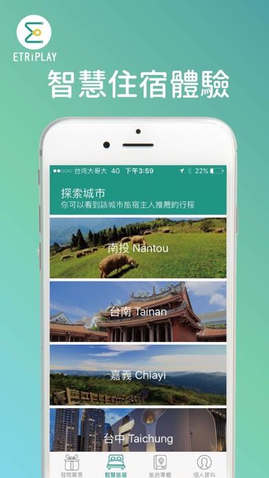 Etriplay : 智慧旅遊全新互動體驗屏幕截圖1