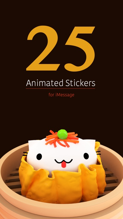 Cindy's Animated Food Stickers screenshot-0