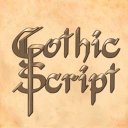 Gothic Winter Cursive Script
