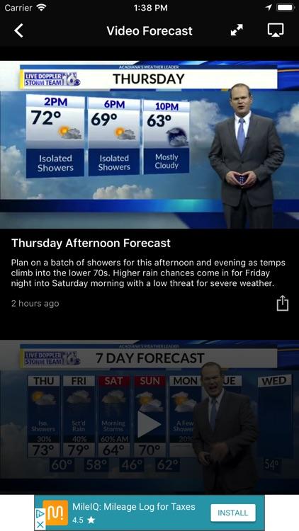 KLFY Weather and Radar screenshot-3