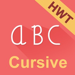 cursive writing hd hwt style on the app store