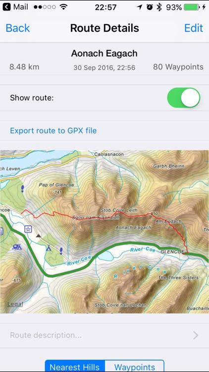 Ben Nevis & Glen Coe Maps