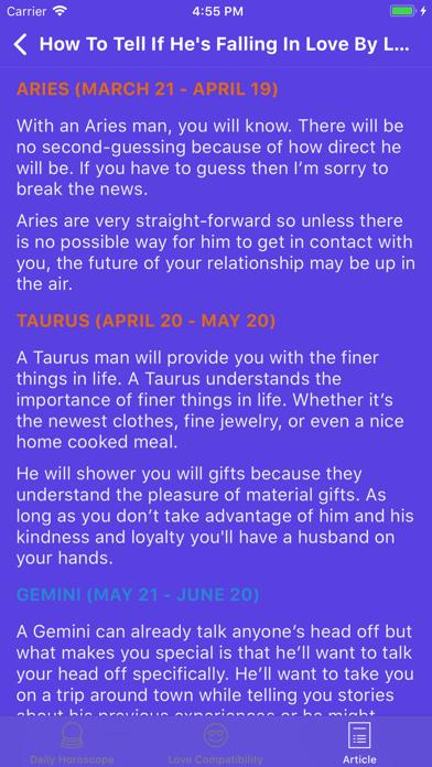 Straight talk horoscope