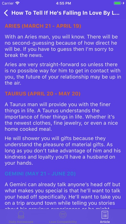 Daily Horoscope & Fortune screenshot-4