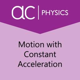Motion w Constant Acceleration