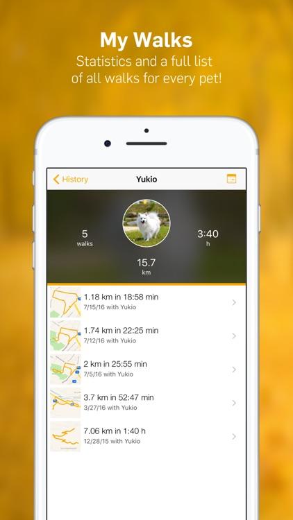 Dog Walk - Track Your Dog's Daily Walks! screenshot-4
