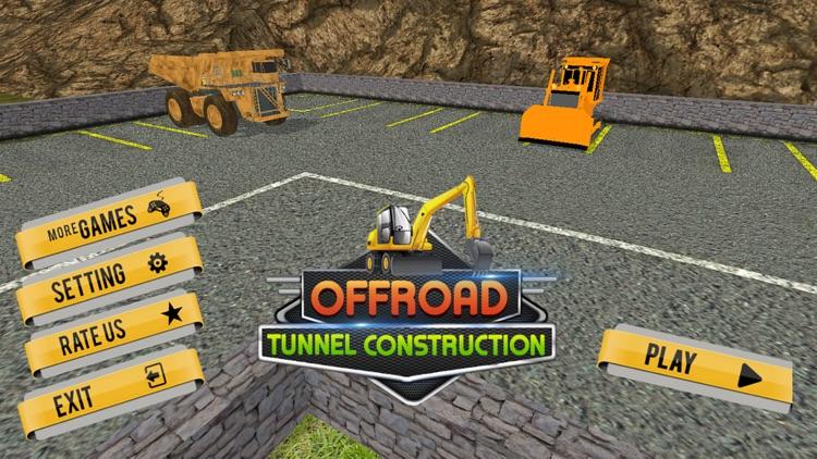 Offroad Tunnel Construction screenshot-3