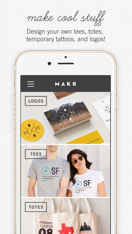 Makr: Custom Design & Logos
