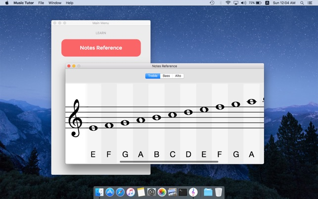 Music Tutor - Sight Reading Trainer Screenshot