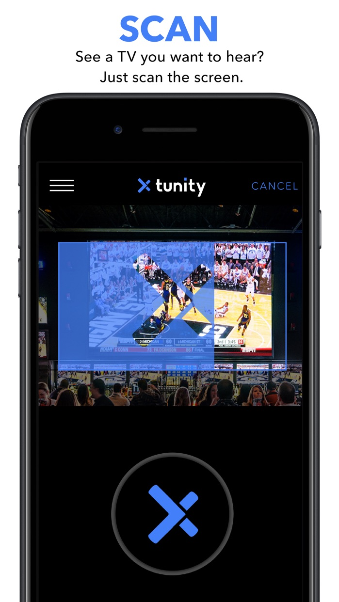 Tunity: Hear any muted TV Screenshot
