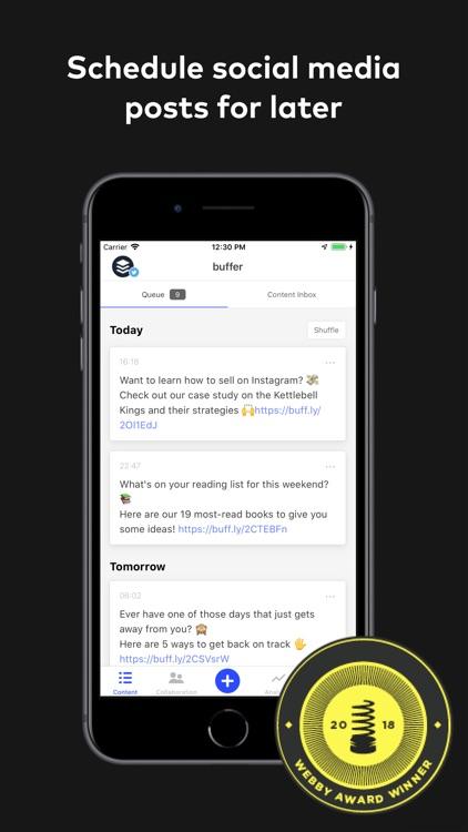 Buffer: Social Media Manager
