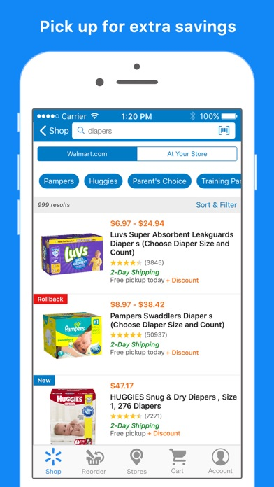Walmart – Shopping and Saving app image