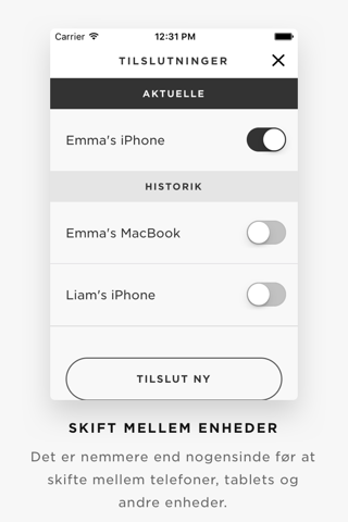 iPhone Skærmbillede 2