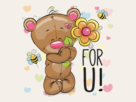 Fun With Teddy Bear
