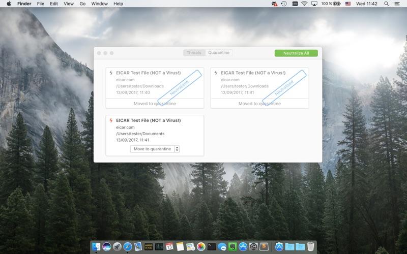 Dr.Web Light Screenshot