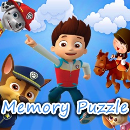 Memory Puzzle for Paw Patrol