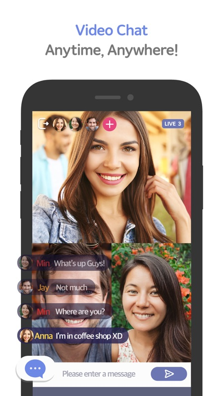 Wave - LIVE Group Video Chat - Online Game Hack and Cheat | Gehack com
